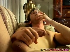 Blonde headed men nude gay London Solo Smoke & Stroke!