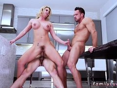 Mature milf huge natural tits Army Boy Meets Busty Stepmom