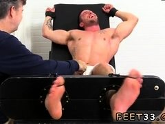 Gay twink toe sucking tubes Casey More Jerked & Tickled