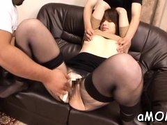 Oriental milf loves a random boy fucking her pussy and arse
