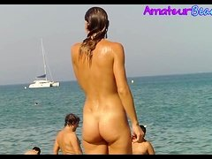 Nude Beach Voyeur Amateurs Hidden Cam Video