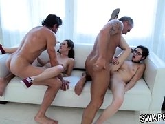 pal's daughter massage and mother ' anal threesome hd A