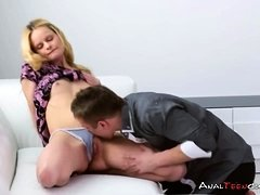 Alluring Blondie Fucked in All Her Holes