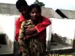 indian boy press girl boobs
