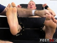 Dominant gay men feet free Cristian Tickled In The Tickle