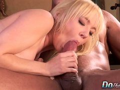 Hubby watches wife Liz Black fucked hard