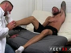 Gay sexy video of hire feet male Dolf's Foot Doctor Hugh