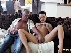 Young girl hd and threesome sucking tits licking pussy