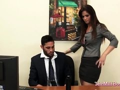 Milf Boss Fucked on Her Office Desk