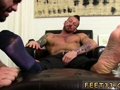 Free gay porn slave Ricky is compelled to scent Hugh's
