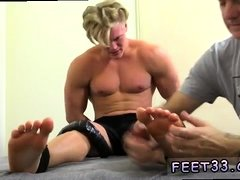 Gay toes ring tube first time 6'3 Hunk Seamus Tickled