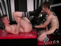 Videos of and gay guys fucking with fist Slim and smooth