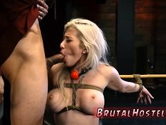 Russian spit slave Big-breasted towheaded ultra-cutie
