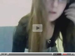 My 18yrs old girfriend very nasty on webcam