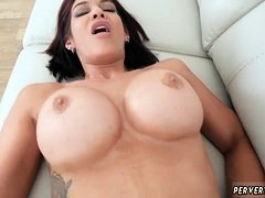 Milf big tits stockings solo Steppatron's son used his