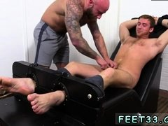 Feet male butt gay Connor Maguire Jerked & Tickle d