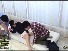 Japanese Amateur Threesome Sex