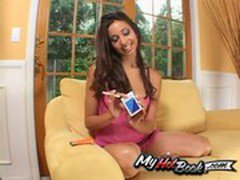 Tiffany Taylor is a beautiful brunette with long h