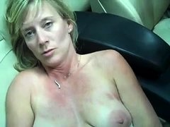 Blonde MIlf Solo Anal Game