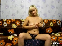 Amateur Barbara From Poland Dildo Masturbate