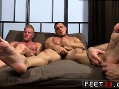 Male porn sucking toes and gay guy naked feet Ricky did