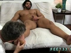 Emo gay twink foot fetish video Alpha-Male Atlas Worshiped