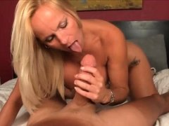 Horny Milf Gets Excited To See Big-dicked Guy