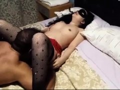 Wife fucked and call names to husband who watches and film