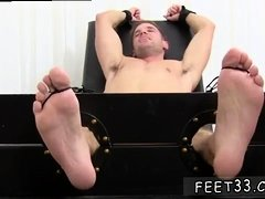 Open legs wide stories and male feet job gay Ticklish