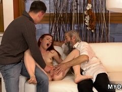 Hd young fuck orgasm and best blowjob Unexpected