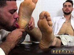 Free hardcore gay porn video samples xxx KC's New Foot &