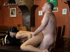 Old man fuck and giving daddy blowjob Can you trust your