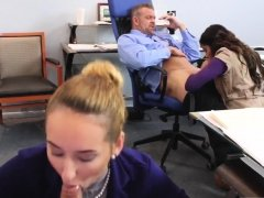 associate's daughter gets spanked by dad and family part