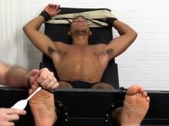 Gay legs feet and fully naked boys sexy foot Mikey Tickle