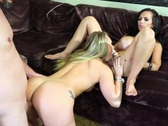 AJ Applegate and Catalina Cruz show off those bootys