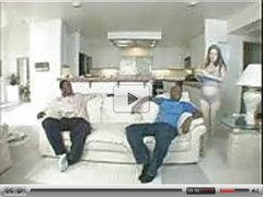 Hot Pregnant fucked by 3 Big Black Guys