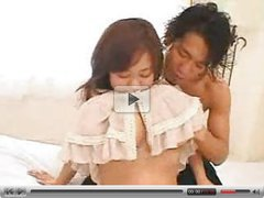 Asian with huge breast geting massaged ILH666