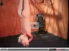Flogged and Punished Upside Down