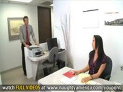 Rachel Starr Takes A Cock In The Office