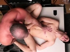 Naked gay old police man xxx 19 yr old Caucasian male,