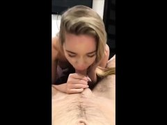 Teen amateur pov blowjob and fuck