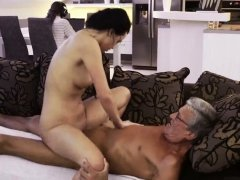 Old guy seduces young anal What would you prefer -