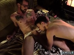 Fucked gay sex only boy first time Dad Family Cabin