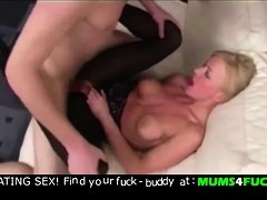 Mom and son! Unbelievable fisting and anal fuck !