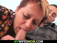 Cock-hungry motherinlaw wants his big cock