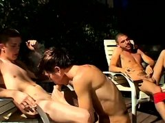 Boy sex gay porn video These four boys smoke stiff and