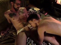 Of fully naked boys gay first time Dad Family Cabin