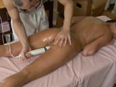 Lusty massage makes excited darling licks on stud's ramrod