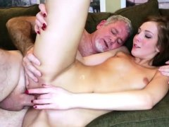 partner's step daughter gangbang and my ' first time