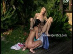 Hot lesbians Debby and Aneta
